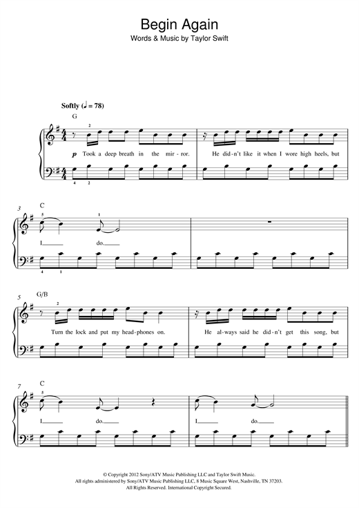 page one of Begin AgainASALTTEXT