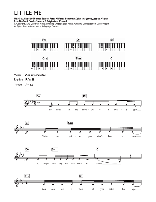 Little Me Sheet Music