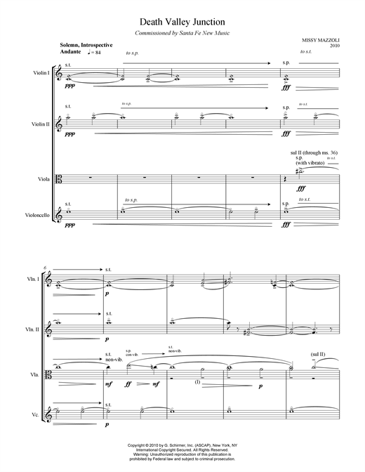 Death Valley Junction Sheet Music