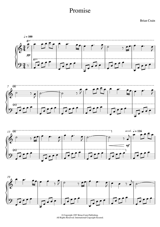 Promise Sheet Music