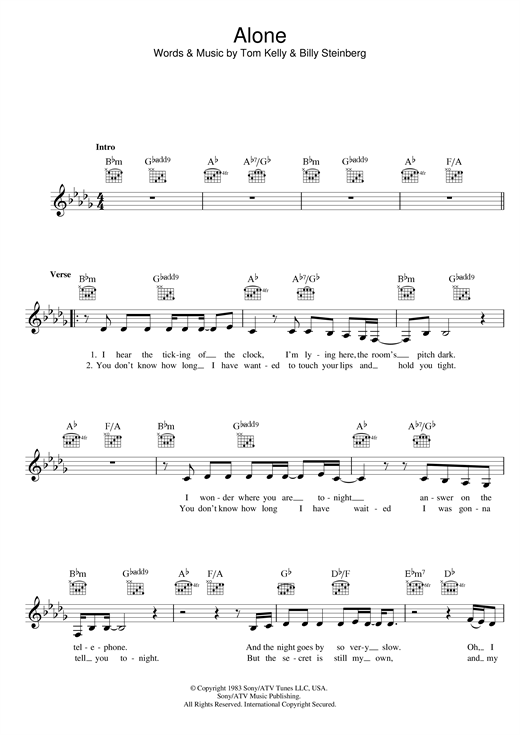 page one of AloneASALTTEXT