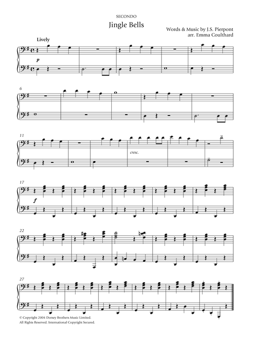 Jingle Bells Sheet Music