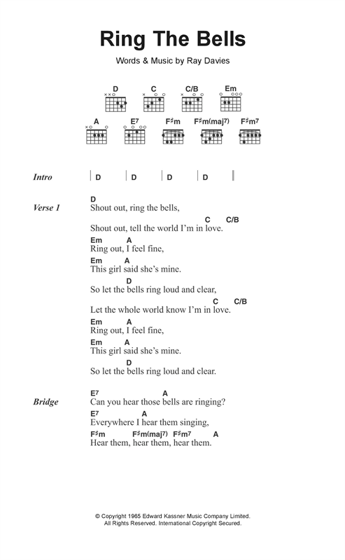 Ring The Bells Sheet Music