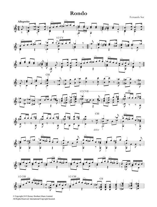 Rondo, Op. 22 Sheet Music