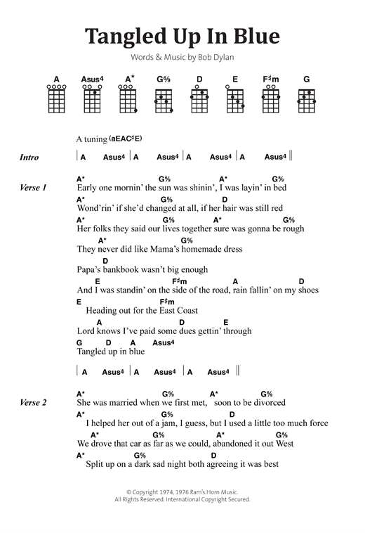 Dylan chords and lyrics