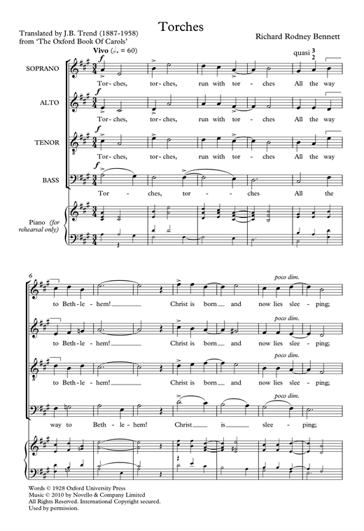 Torches Sheet Music