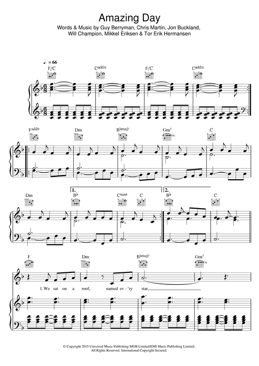 how to play clocks by coldplay on piano chords
