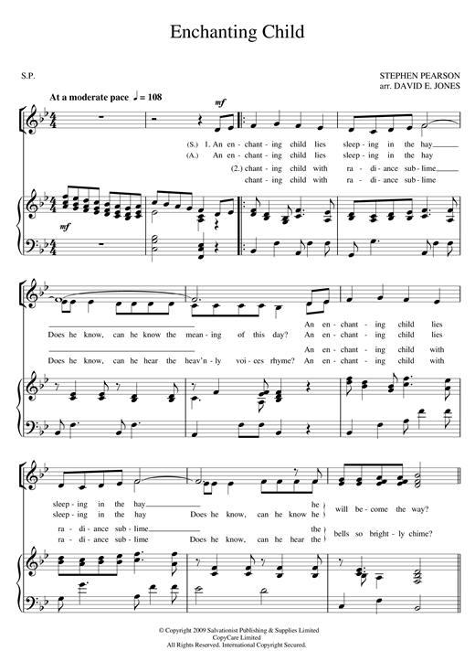Enchanting Child Sheet Music