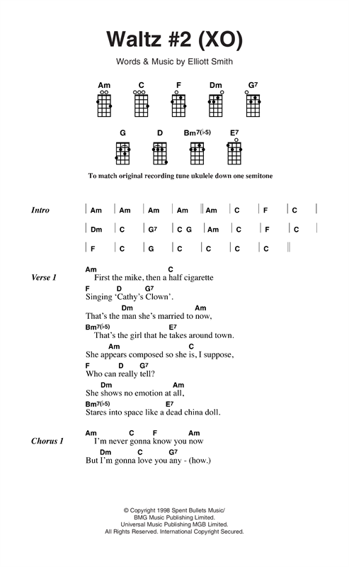 Waltz 2 Chords Images Chord Guitar Finger Position