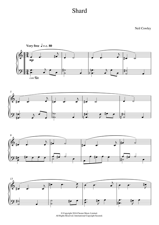 Shard Sheet Music
