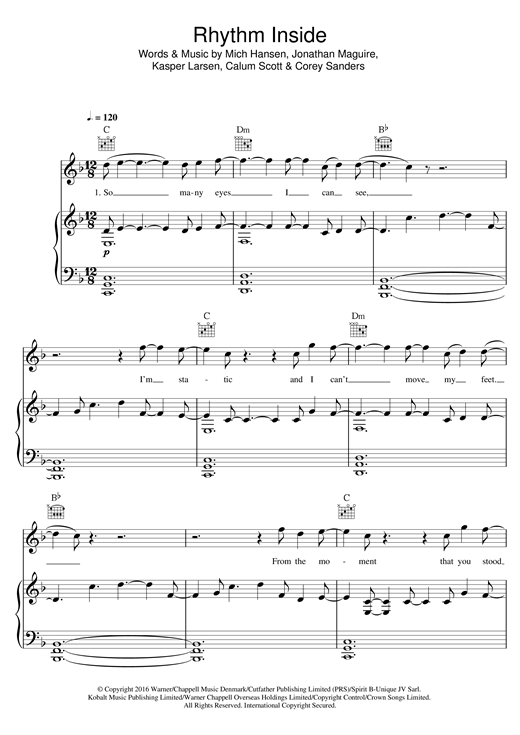 page one of Rhythm InsideASALTTEXT