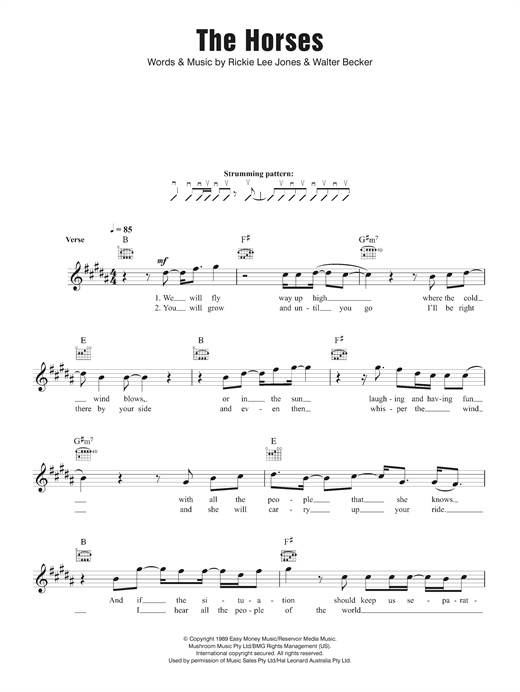 The Horses Sheet Music