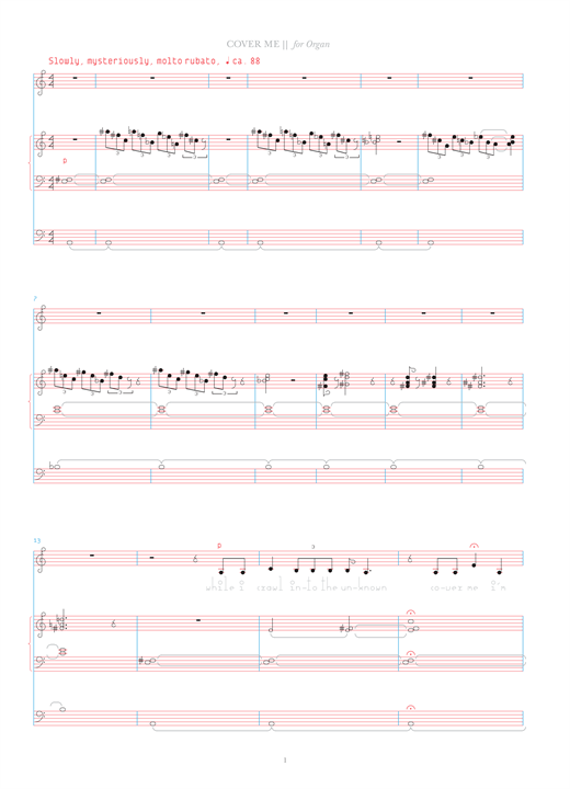 Cover Me Sheet Music