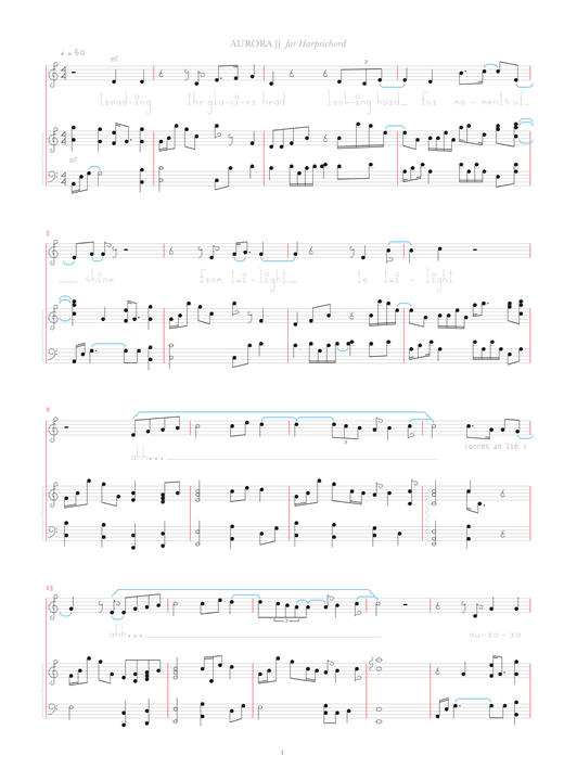 Aurora Sheet Music