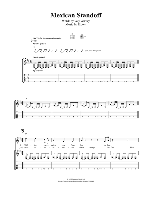 Mexican Standoff Sheet Music