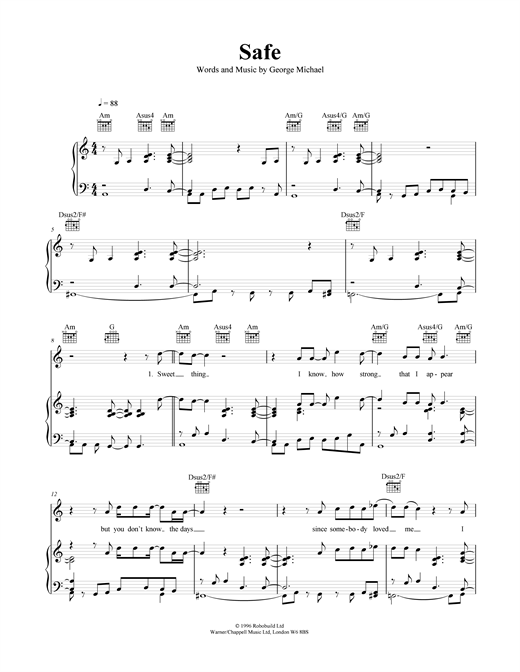 Safe Sheet Music