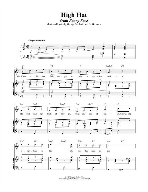 High Hat Sheet Music