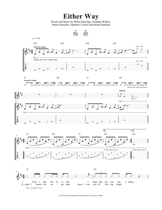 Vision Of Division Sheet Music