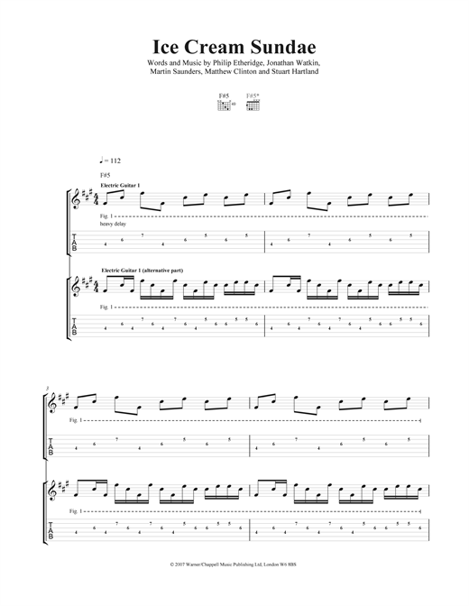 Ice Cream Sundae Sheet Music