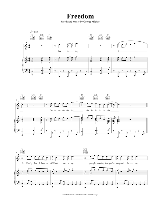 Freedom Sheet Music