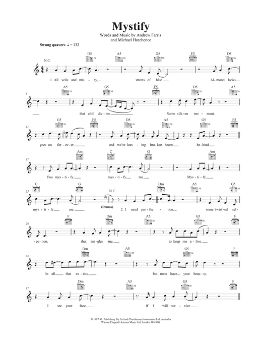 Mystify Sheet Music