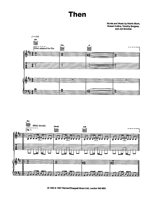 Then Sheet Music