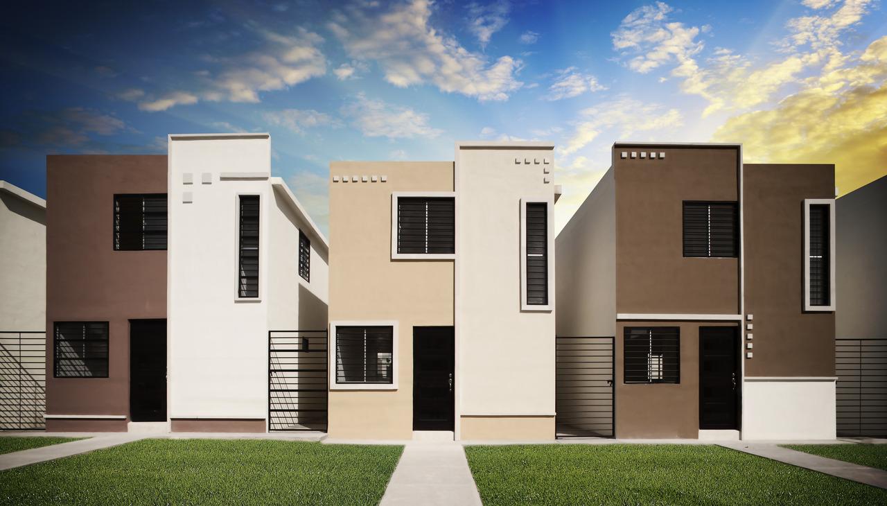 Fachadas con molduras - Molduras para ventanas exteriores ...