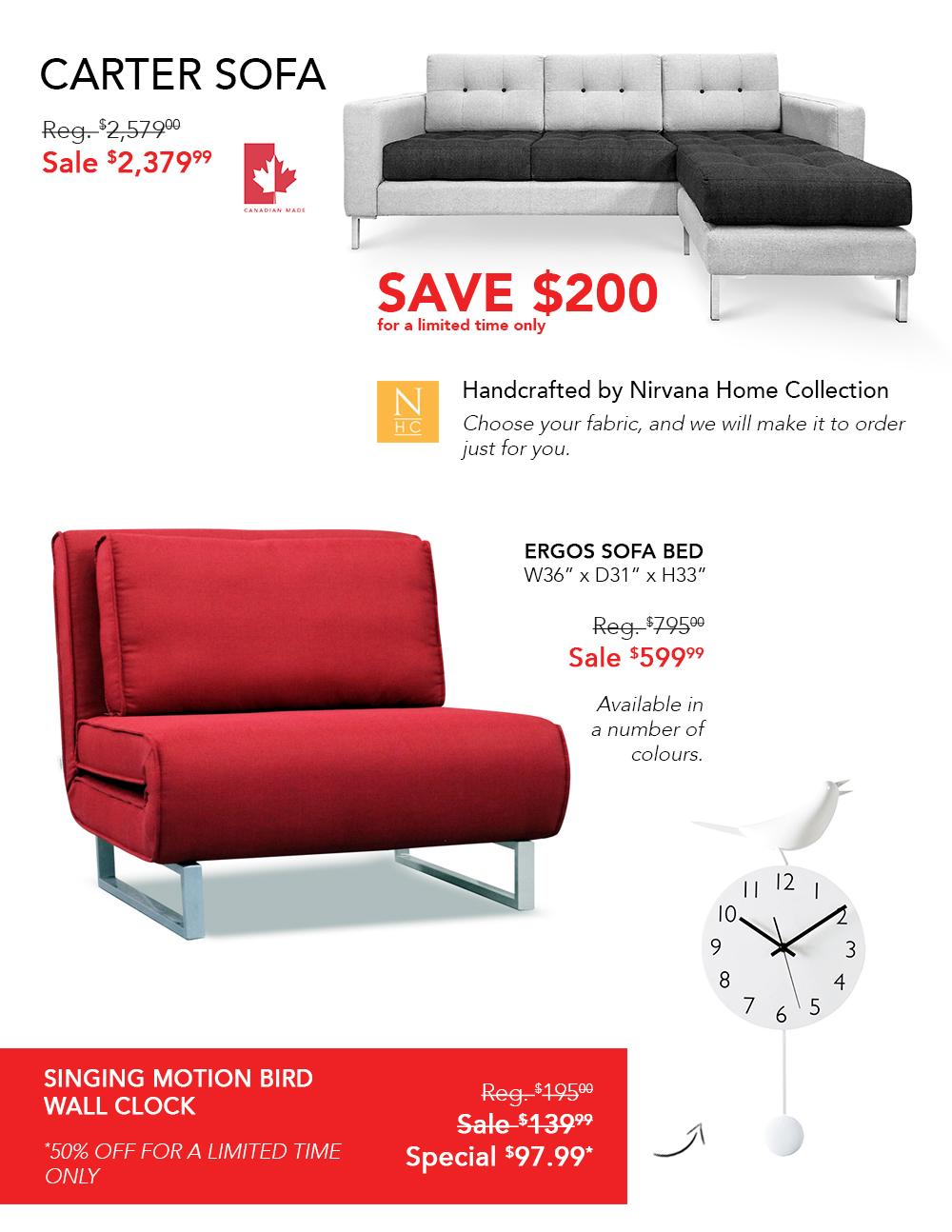 Nirvana Home Collection   Modern Home Furnishings   Furniture   Bedding    Home Decor