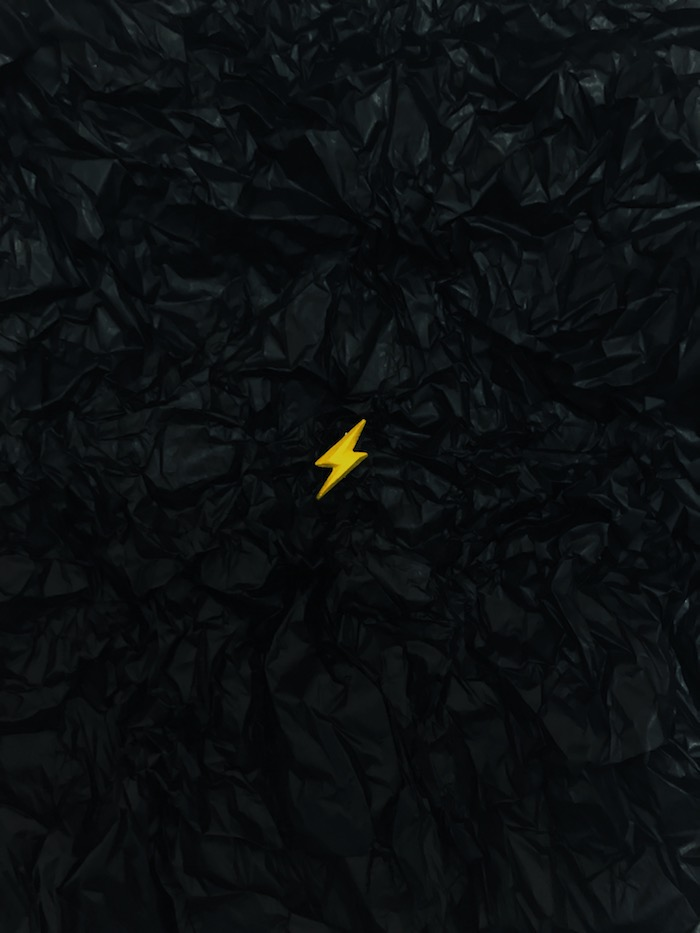 Lightning Wooden Pin - DROP