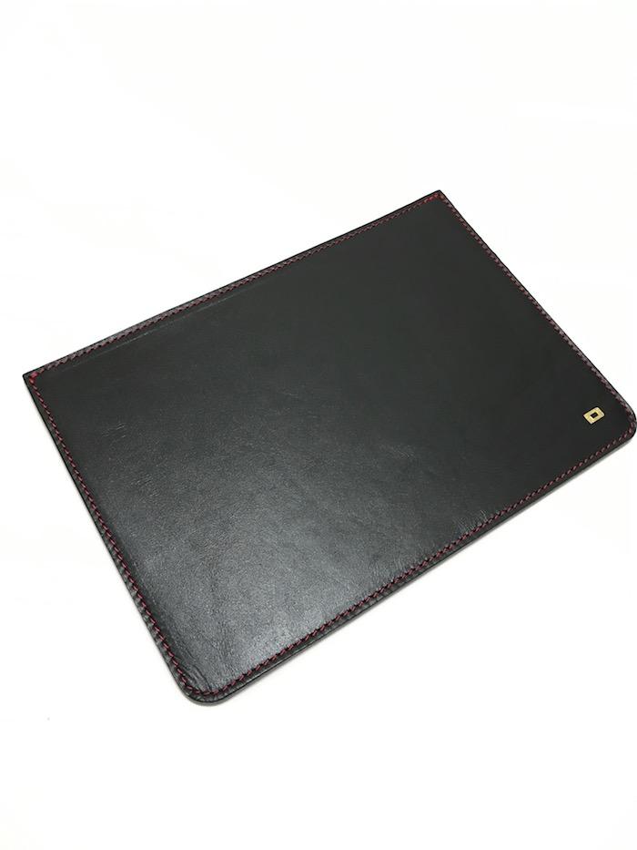 DROP DBlack Leather iPad Sleeve