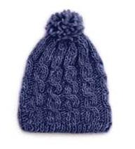 DROPWool Pompon Hat