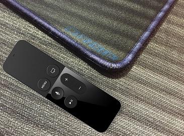 DROPad+Apple TV Remote