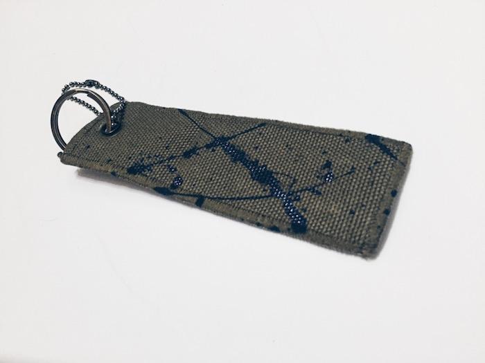 DROP Blue Lake Canvas Keychain
