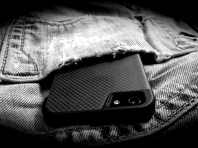 DROPCarbon iPhone SE 5/5s Hard Case
