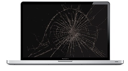 Section image macbookpro cracked screen