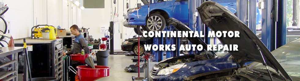 Section image continental motor works auto repair banner4