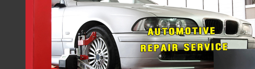 Section image automotive repair service banner 1