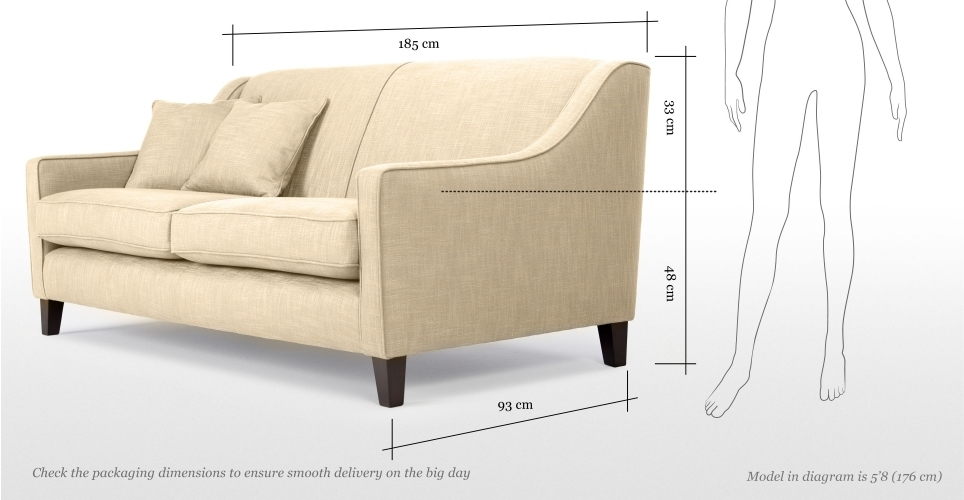 Section image halston three seater sofa cream lb9