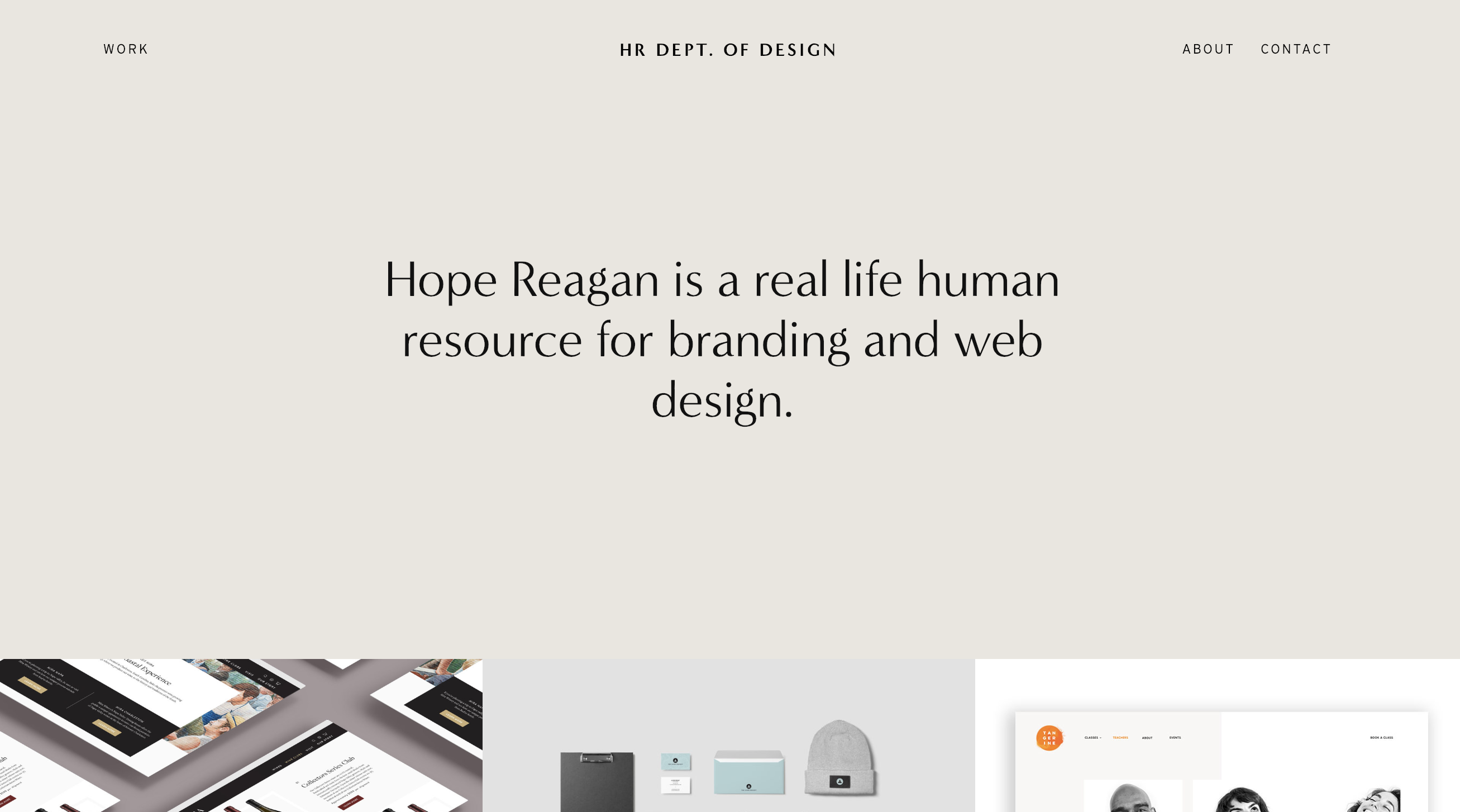 Best visual and text portfolio site