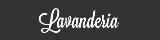 lavanderia-font