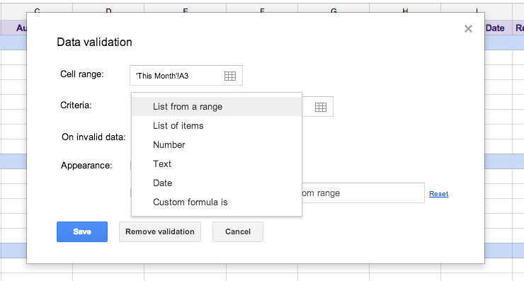 Get Organized with 2 Google Spreadsheets Features