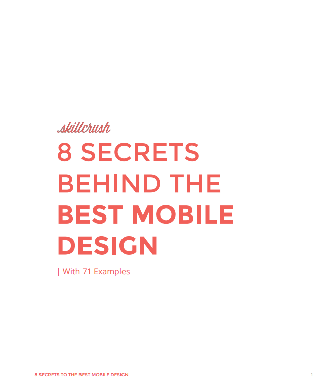 The Ultimate Guide to the Best Mobile Design
