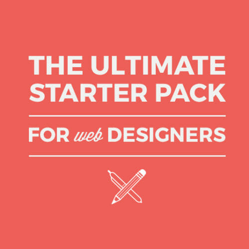 The Ultimate Starter Pack for Web Designers