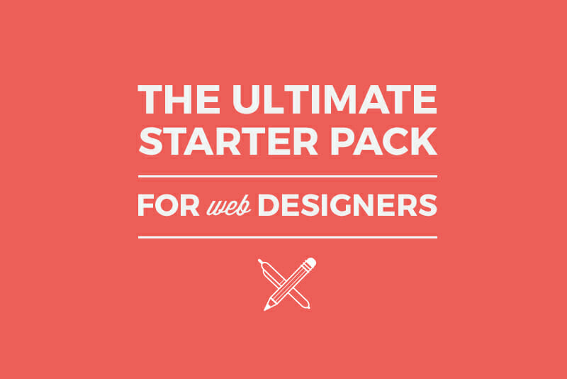 starter pack graphic design for web