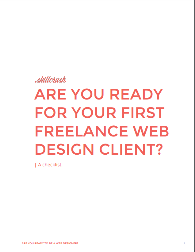 Are You Ready to Be a Web Designer? A Checklist.