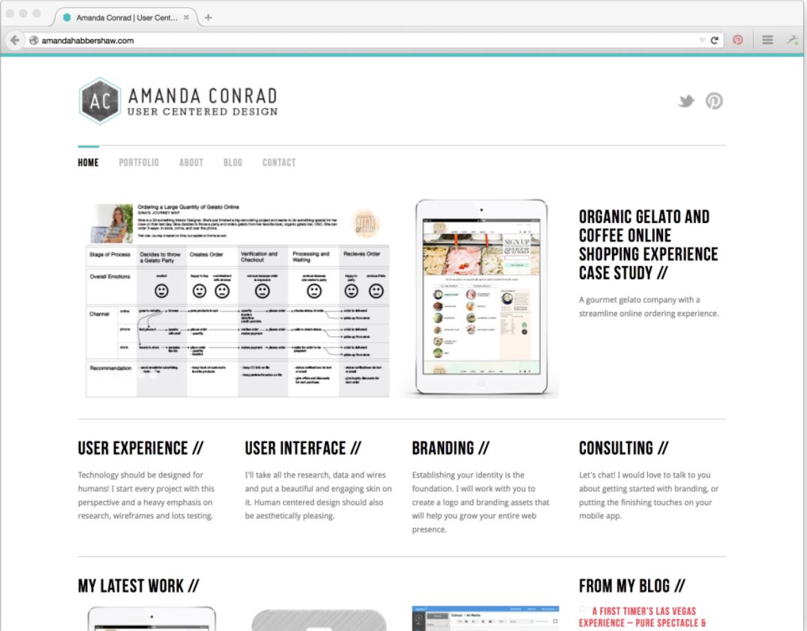 How to Make a Portfolio Site The Ultimate Guide   Skillcrush
