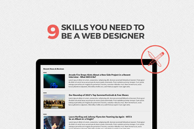 Learn These 9 Skills to Become a Successful Web Designer