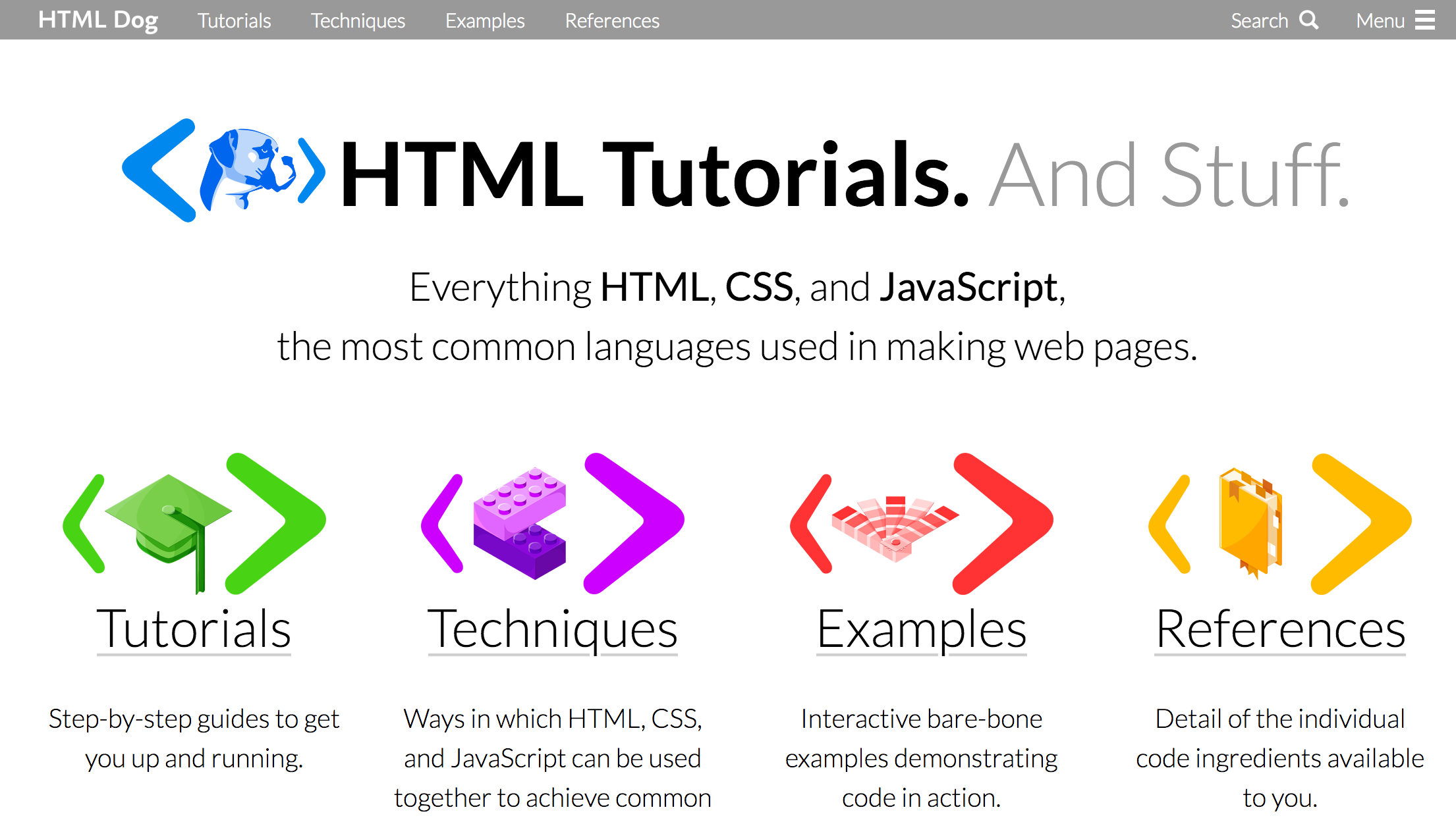 html dog - free html tutorials