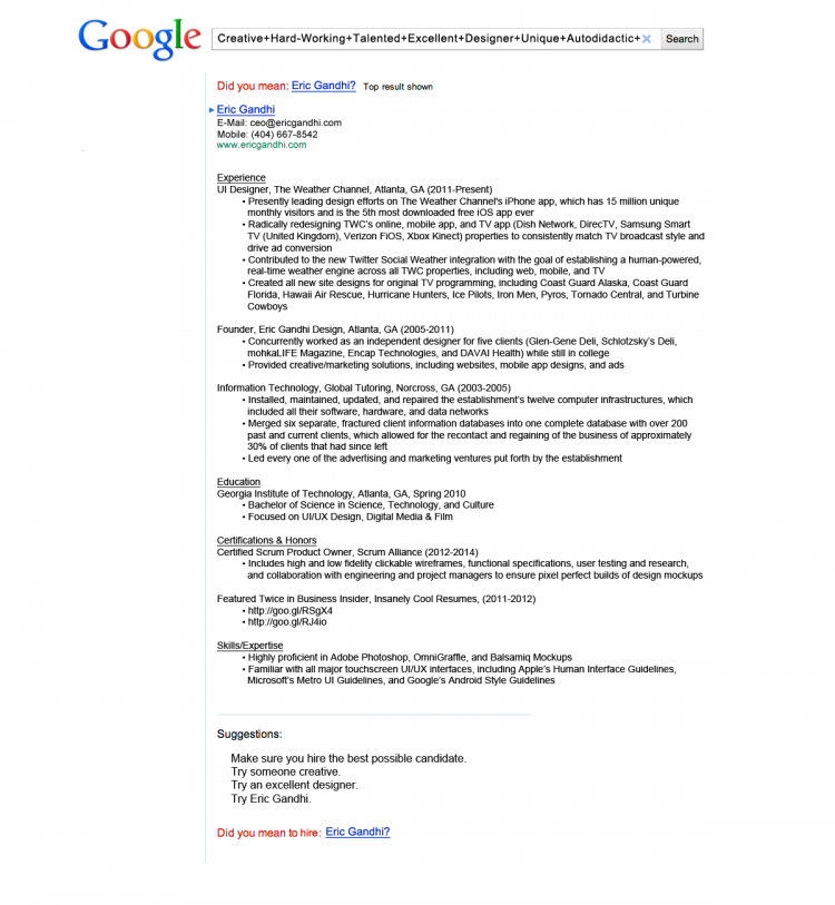 google job resume - Magdalene-project.org