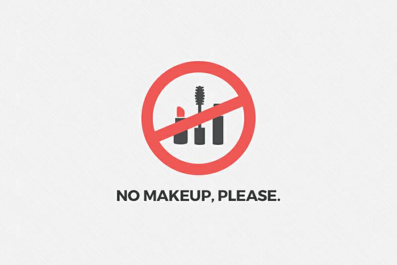 no makeup company culture